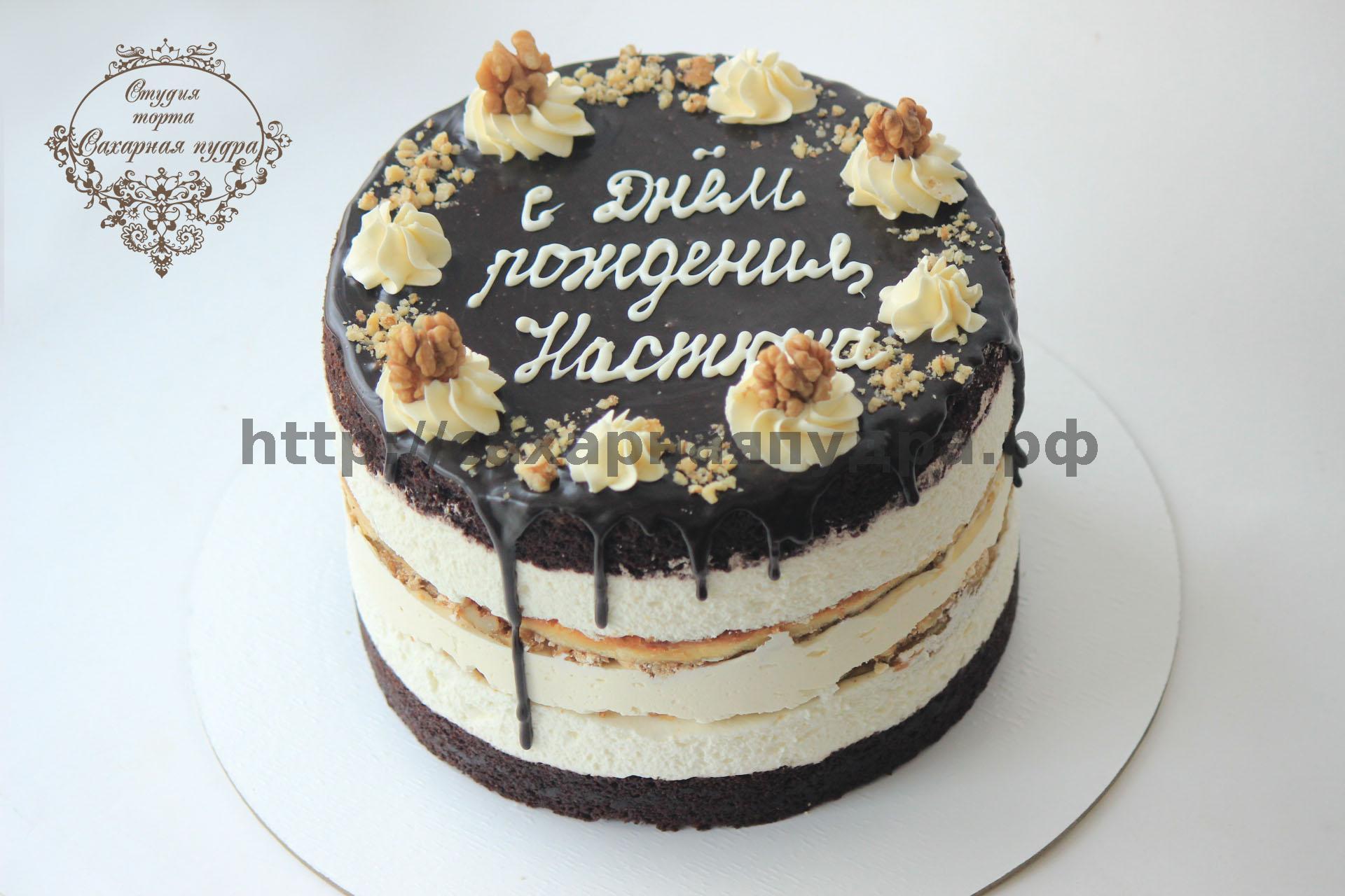 Торт без украшений фото